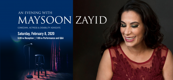 An Evening with Maysoon Zayid