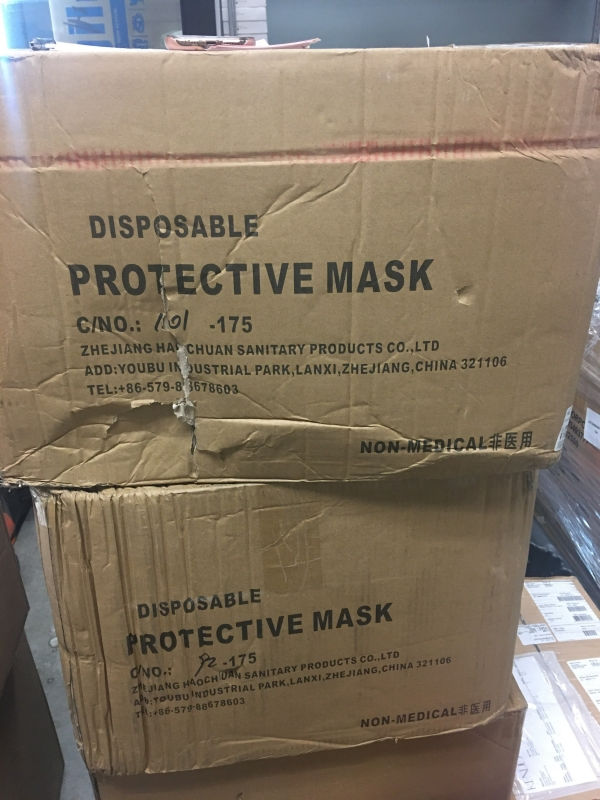 Kaiser Permanente Oakland Medical Center receives mask donation made by Kelly Yang