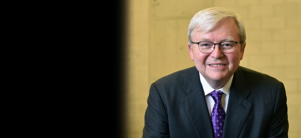 Kevin Rudd Named Asia Society's Next President and CEO