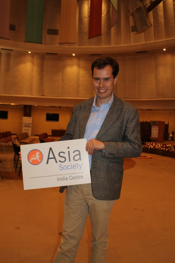 Adam Roberts, South Asia Bureau Chief, The Economist. (Asia Society India Centre)