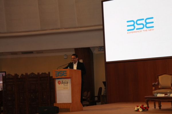 Ashish Kumar Chauhan, Managing Director and CEO, BSE Limited. (Asia Society India Centre)