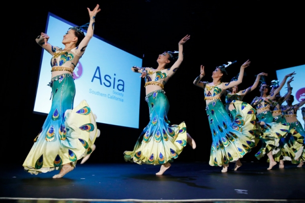 YSY Dancers during the 2015 Asia Society Southern California Annual Gala on Thursday, June 20, 2015, in Century City, Calif. (Photo by Ryan Miller/Capture Imaging)