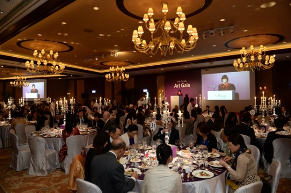Asia Society Art Gala - Dinner at Conrad Hong Kong