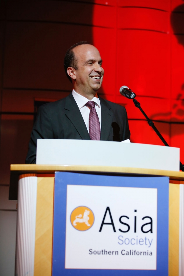 Ben Sherwood speaks during the Asia Society Southern California 2017 Annual Gala at the Skirball Cultural Center on May 7, 2017, in Los Angeles, California. (Photo by Ryan Miller/Capture Imaging)