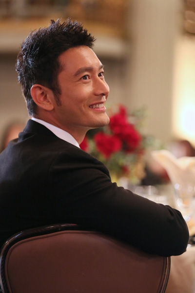 2014 U.S.-China Film Summit. Actor, Asia Society Southern California Honoree, Huang Xiaoming. Photo by Ryan Miller/Capture Imaging.