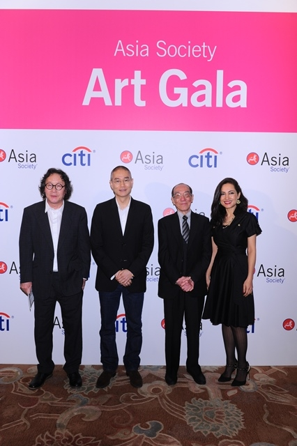 Artist Honorees: (From left to right) Xu Bing, Do Ho Suh, Wucius Wong, and Shahzia Sikander