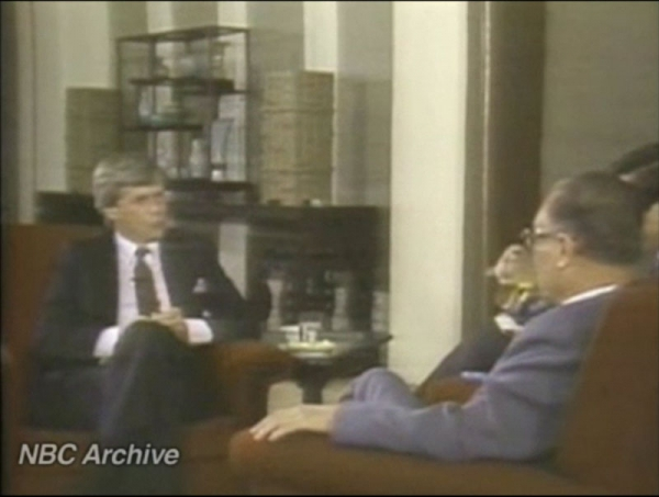 Brokaw's historic Meet the Press interview with Zhao Ziyang.