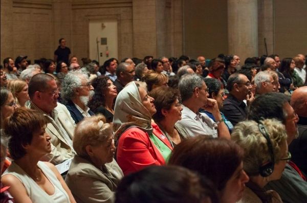 Guests at the sold-out program (Asian Art Museum, San Francisco)