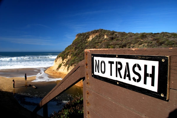 No trash. California, 2008 (José Antonio Galloso/Flickr)