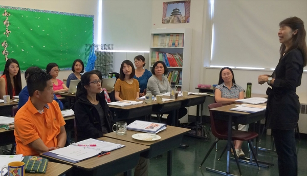 Chinese writing assessment workshop (Chinese American International School)
