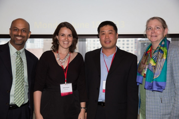 L to R: Apoorva Gandhi, VP, Multi-Cultural Markets & Alliances, Marriott International, Inc; Jessica Kehayes, Exec Dir, Education, Asia Society; David W. Kim, Dir, Global Commercial Business & Marketplace, Dell Inc; Kitty Voricek, Exec VP, DHR Beijing
