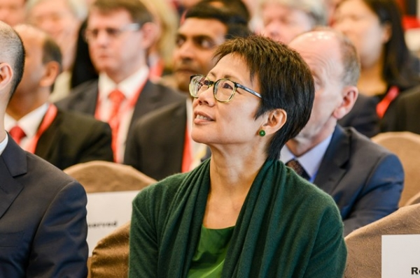 Christine Loh, Under Secretary for the Environment, The Government of Hong Kong SAR was full ears during the symposium.