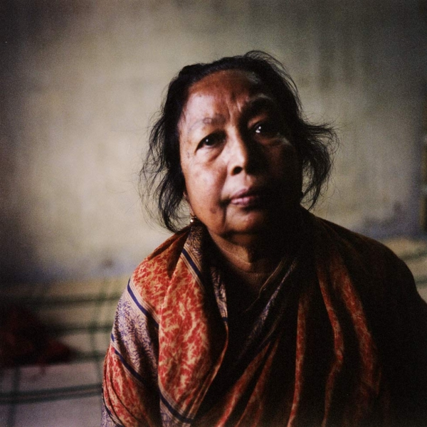 Rabeya Khatun fought alongside her husband and son, who were both killed during the war. She watched her son die when their home was invaded. (Elizabeth Herman)