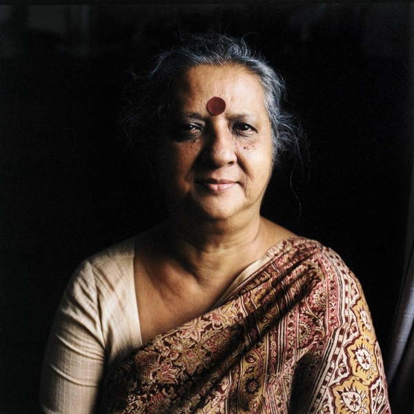 Kushi Kabir was inspired by the war and dedicated her life to helping the underprivileged in Bangladesh, for which she has been nominated for the Nobel Peace Prize. (Elizabeth Herman)