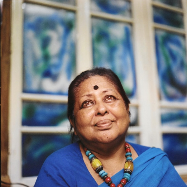 Sculptor Ferdousi Priyabhashini was one of the first women to speak openly about being raped by the Pakistani army. (Elizabeth Herman)