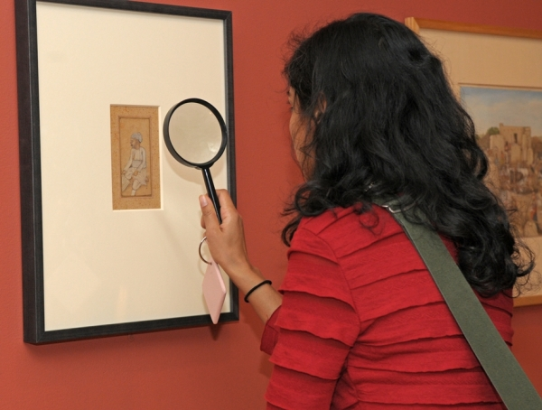 Members-only exhibition opening of Princes and Painters in Mughal Delhi. On view at Asia Society Museum Spring 2012.
