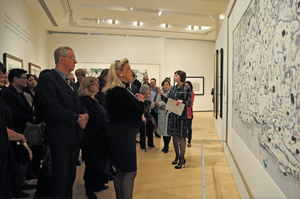 Patron's private tour of Revolutionary Ink: Wu Guanzhong, led by Asia Society Museum Director Melissa Chiu.