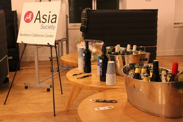 General Assembly graciously provided beer and wine for the event. (Asia Society)