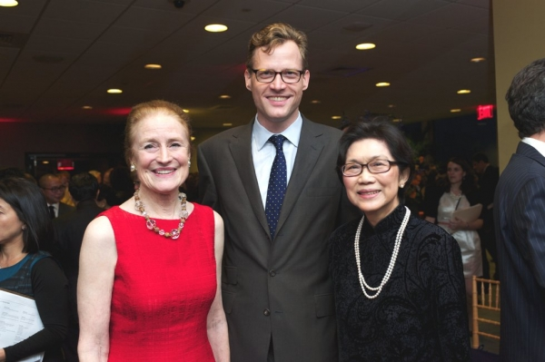 L to R: Henrietta Fore, Charles Rockefeller, and Chan Heng Chee. (Ann Billingsley/Asia Society)