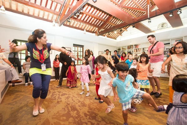 Bollywood dance workshop at Lee Quo-Wei Room