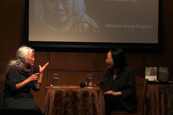 Maxine Hong Kingston talks with Gish Jen about her new book, Tiger Writing (Asia Society)