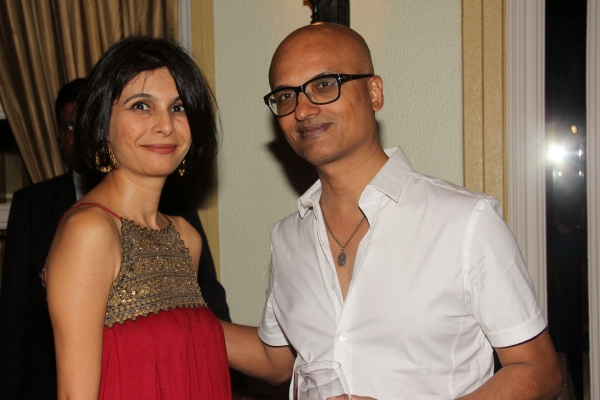 Moomal Mehta, Deputy Director, Asia Society India Centre (L) and Jeet Thayil, Indian poet and novelist (R). (Asia Society India Centre)