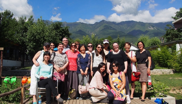Inaugural CFI participants in Yunnan Province. (Chinese American International School)
