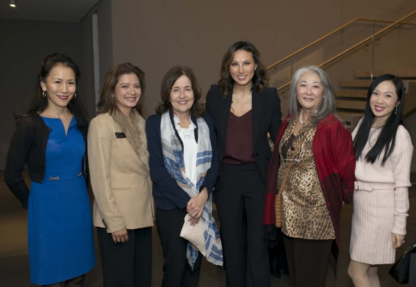 Left to Right: Y. Ping Sun, Bonna Kol, Andrea White, Mina Chang, Donna Cole, and Connie Kwan-Wong (Jeff Fantich)