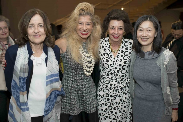 Andrea White, Sofia Adrogue, Kathy Goossen, and Anne Chao (Jeff Fantich)