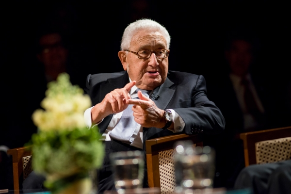 Dr. Henry A. Kissinger. (Photo: Jeff Fantich)