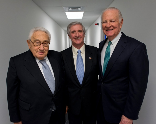 Dr. Henry A. Kissinger; Andrew H. Card, Jr.; James A. Baker III. (Jeff Fantich)