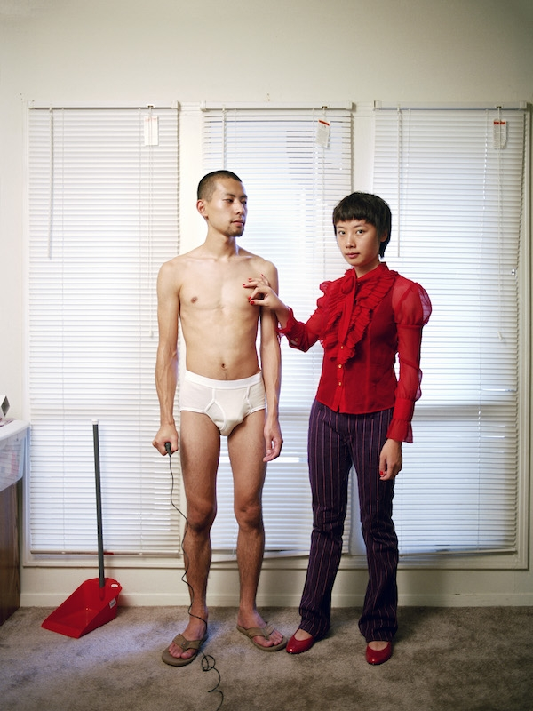 Relationships work best when each partner knows their proper place, 2007, Digital c-print, 34 x 44 x 2 inches. (Pixy Yijun Liao)