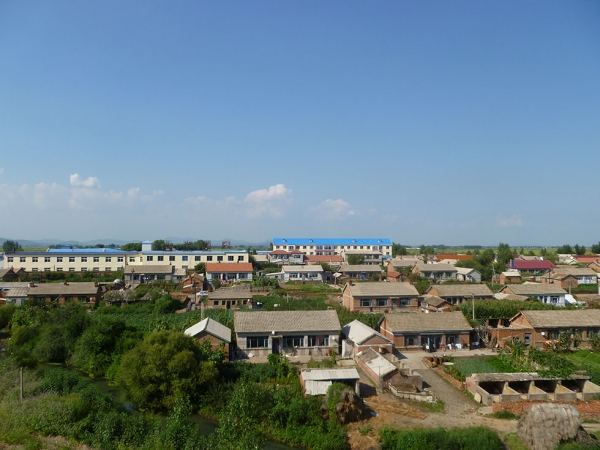 The village of Wasteland, in northeastern China. (Michael Meyer)