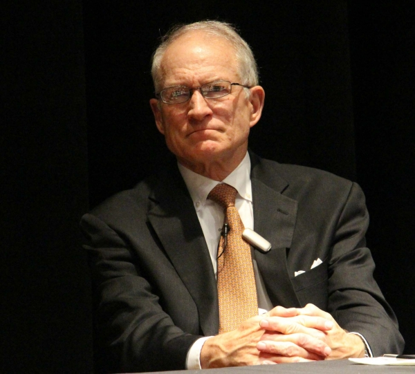 Ambassador Untermeyer listens attentively to audience questions (Asia Society Texas Center - Paul Pass)