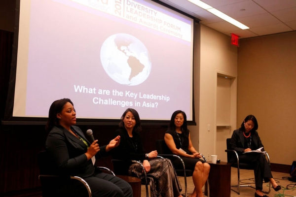 L to R: Aynesh L. Johnson, Rosaline Koo, Suyin Copley and Jane Hyun