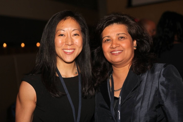 L to R: Suyin Copley and Kunkun Callaghan