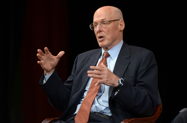 Henry Paulson speaks at Asia Society New York.