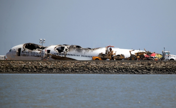 The devastating crash of Asiana Airlines Flight 214 at San Francisco International Airport on July 11, 2013 made global headlines as the National Transportation Safety Board and the South Korean government investigated the circumstances leading up to the plane's landing. (Justin Sullivan/Getty Images)