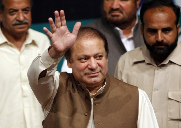 Pakistan's 18th Prime Minister, Nawaz Sharif, was re-elected on May 20, 2013. Sharif returned to the position after 14 years for a third time. On October 23, Sharif met with U.S. President Obama to discuss drone strikes, extremist threats, and Pakistan and Afghanistan's relations with India. (Arif Ali/AFP/Getty Images)