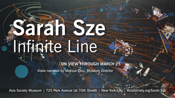 """Sarah Sze: Infinite Line"" at the Asia Society Museum runs through March 25, 2012."