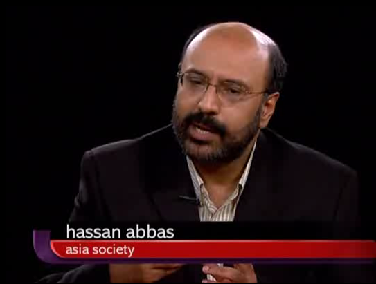 Asia Society Fellow and director of the society's Pakistan 2020 Study Group, Hassan Abbas, appeared on The Charlie Rose Show on June 1, 2011.
