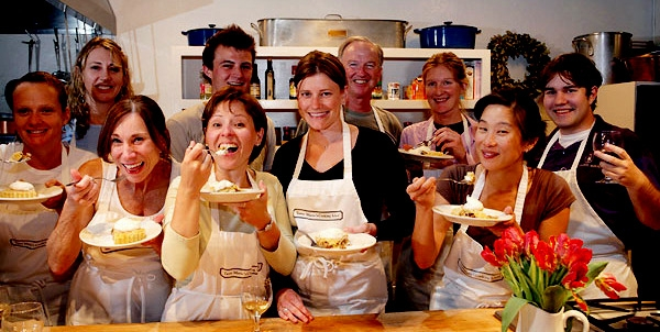 Tante Marie Cooking Class: Professional training for aspiring chefs and bakers as well as fun and interactive classes for passionate home cooks. A great San Francisco excursion for corporate off-site meetings. Donated by Tante Marie's Cooking School.