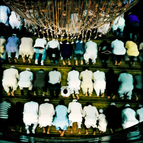 Prayer time in Kowloon mosque. (Palani Mohan)