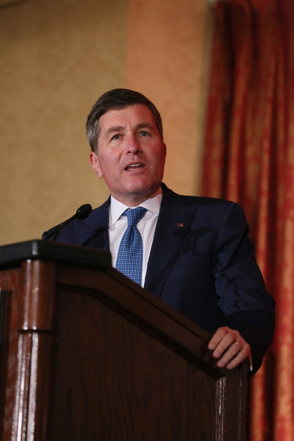 Assistant Secretary of State, Bureau of Economic and Business Affairs, Charles H. Rivkin. Photo by Ryan Miller/Capture Imaging.