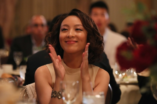 Actress, Asia Society Southern California Honoree, Sarah Li. Photo by Ryan Miller/Capture Imaging.