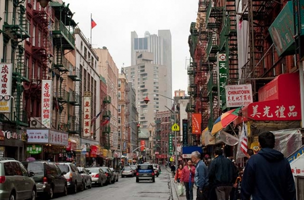 Chinatown in New York. (Alejandro Mallea/Flickr)