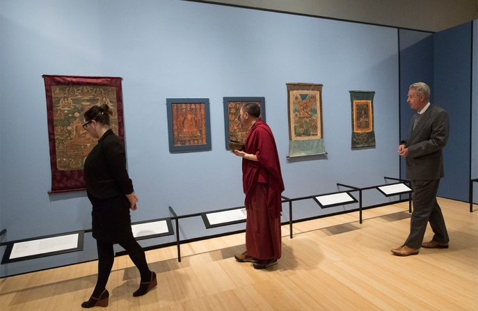 Unknown Tibet: The Tucci Expeditions and Buddhist Painting opening night
