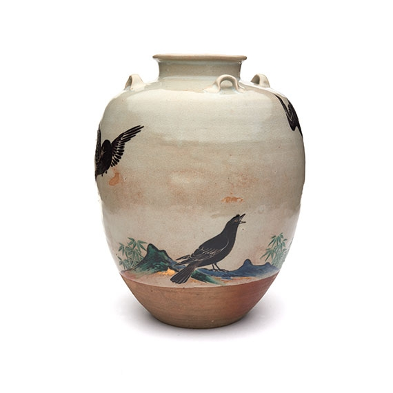 Tea Leaf Jar. Edo period (1615–1868), 1670s. Japan, Kyoto Prefecture.