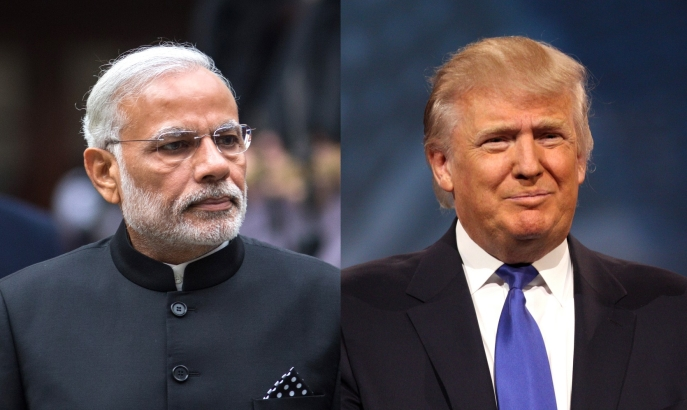 Prime Minister Modi and President Donald Trump
