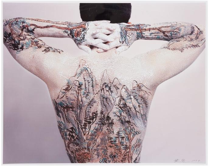 7755fd03bafc7 Huang Yan - Chinese Landscape—Tattoo